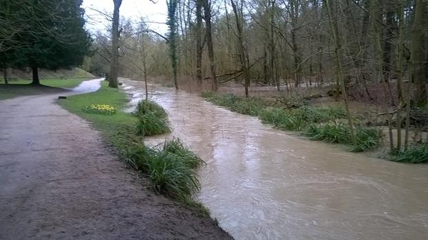 Smite Brook flooded 09032016
