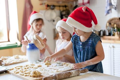 Baking at Christmas