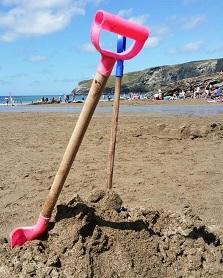 Sandcastle spades