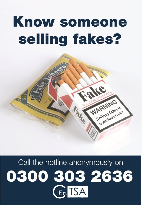 Anonymous hotline flyer