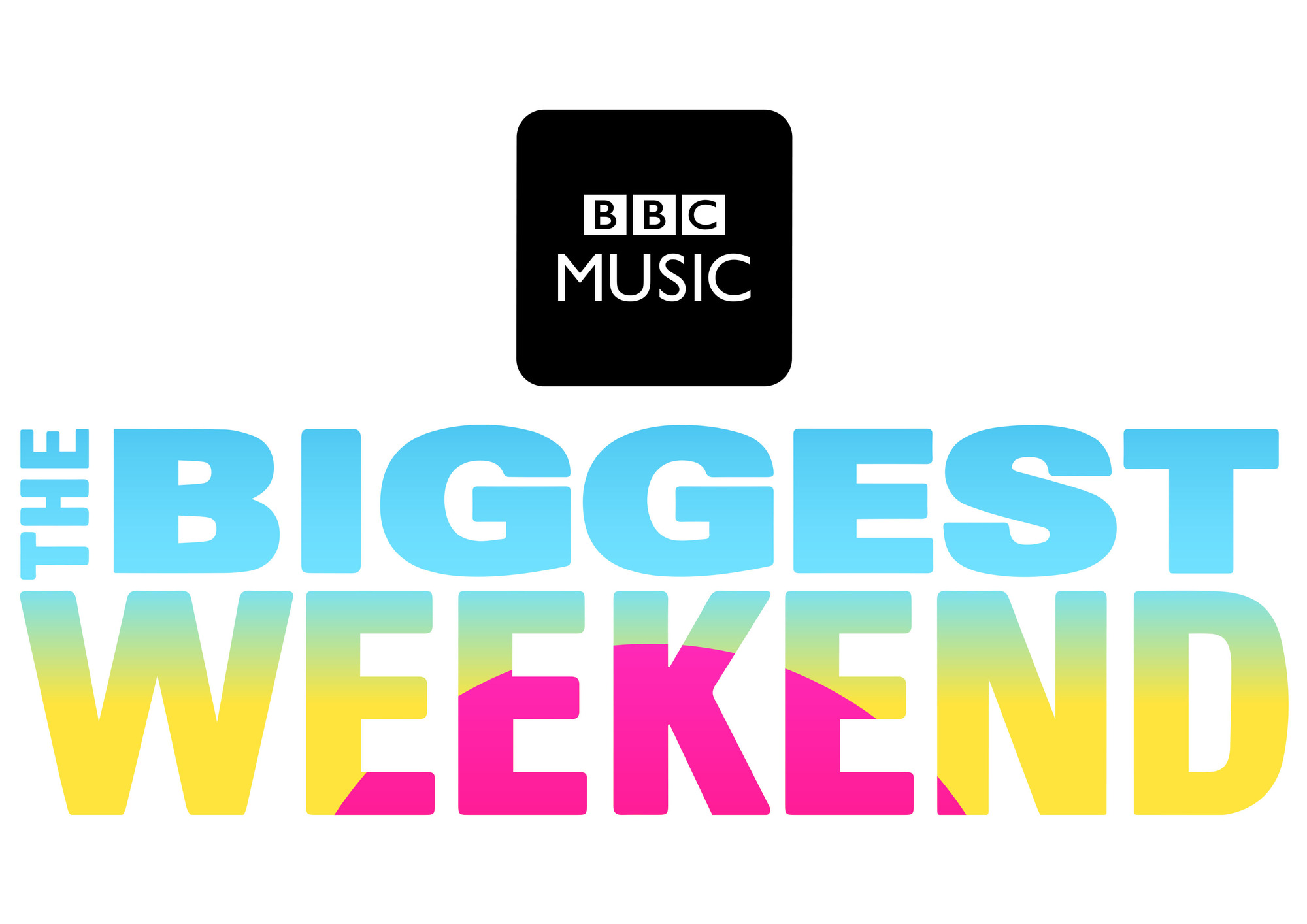 BBC Music's The Biggest Weekend logo