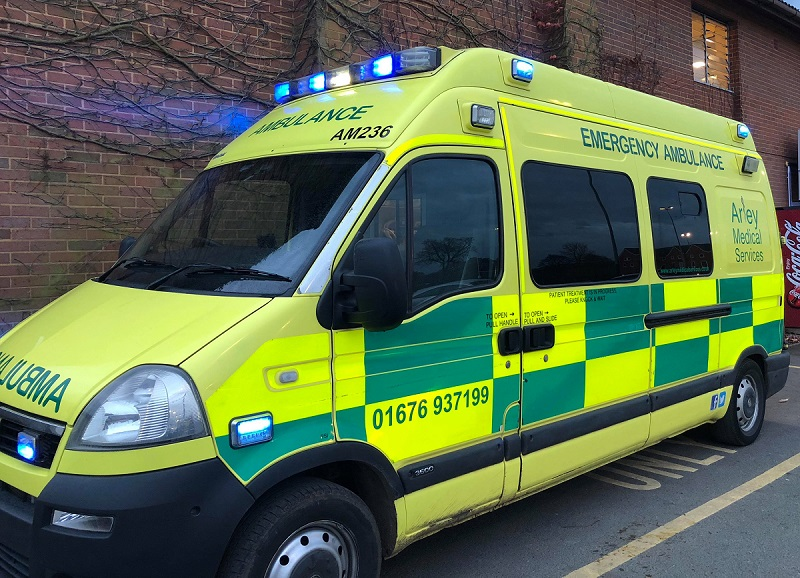 Alcohol ambulance for Coventry