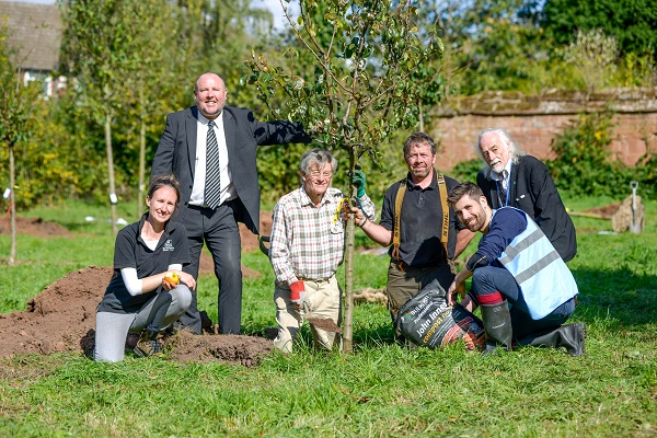 Charterhouse tree planting 1