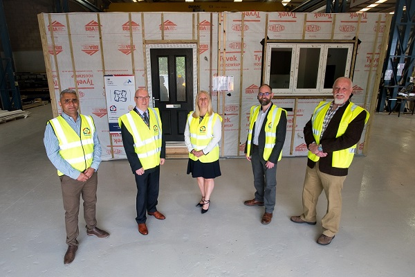 Executive Director of Development at Citizen Nick Byrne, Director of Development at Citizen Richard Whittaker, Assistant Director at Homes England Sharon Kelly and Coventry City Councillor David Welsh.