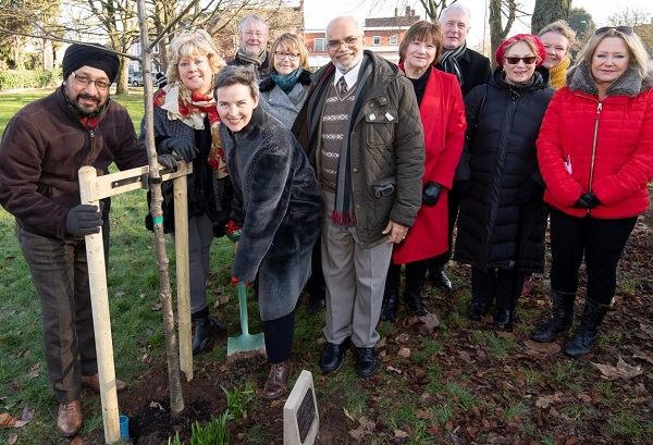 Cllr Meto Lakha's memorial tree
