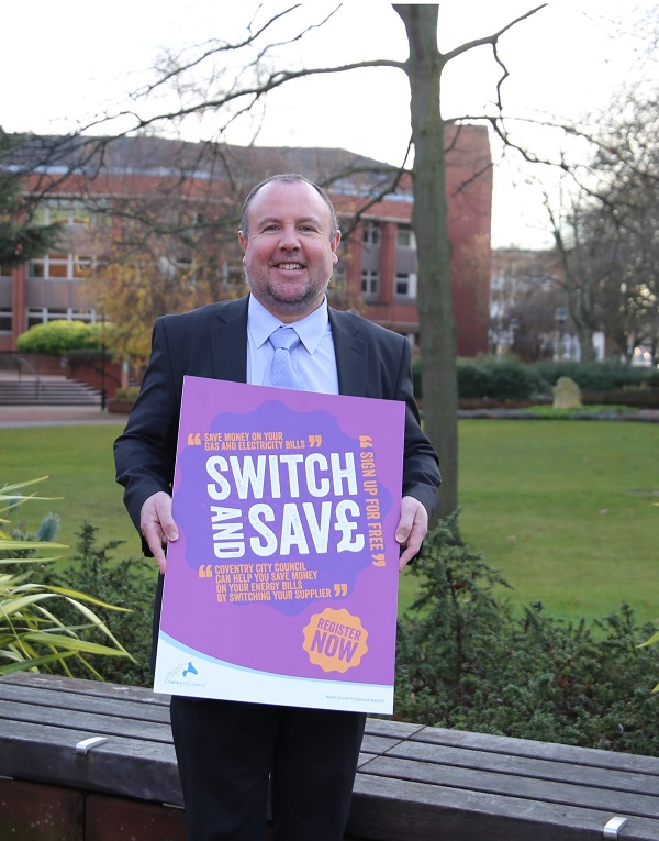 Cllr O'Boyle - Switch and Save