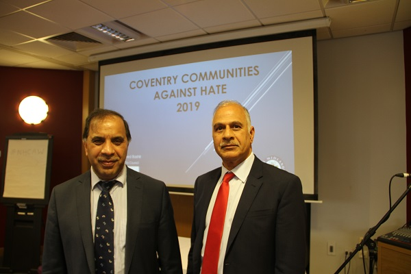 Community organisations, practitioners and partners joined together this week (14 October) to help tackle hate crime in Coventry.