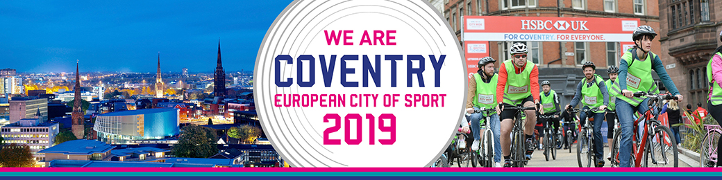 We are European City of Sport 2019
