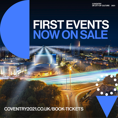 First events now on sale graphic