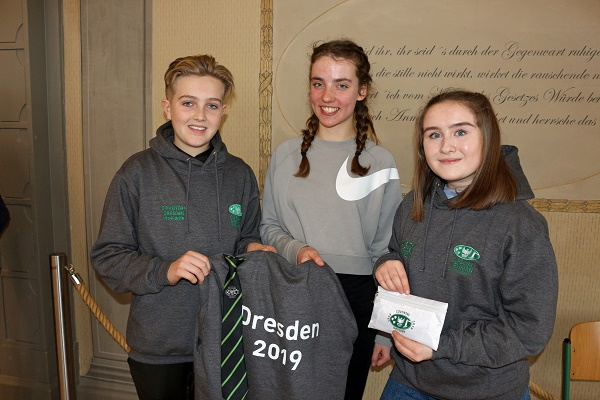 Coventry students kevin meloney lena ashley rohman and molly wilson in dresden