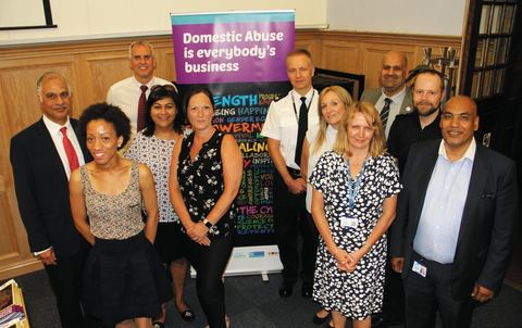 Domestic abuse launch