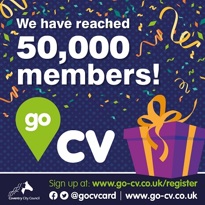 We have reached 50,000 members. Sign up at www.go-cv.co.uk/register