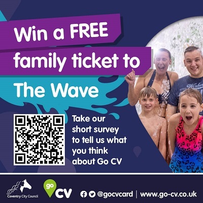Win a free family ticket to The Wave
