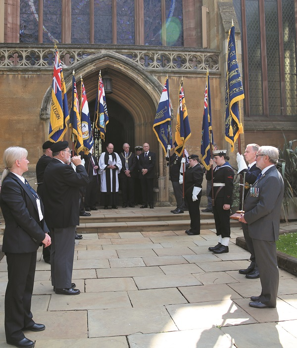 HMS Coventry remembrance service