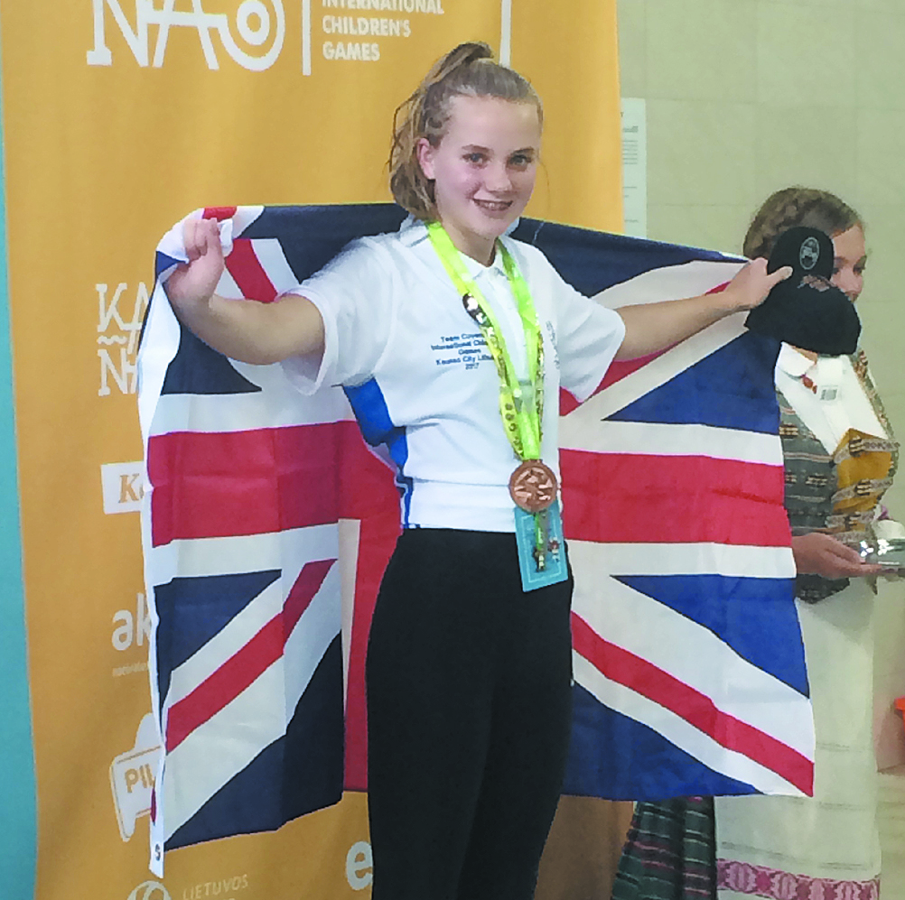 Isobel bronze success