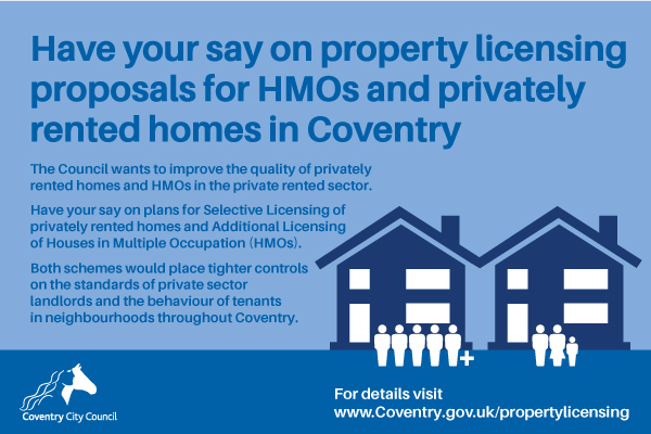 Licensing proposal for private rented housing sector