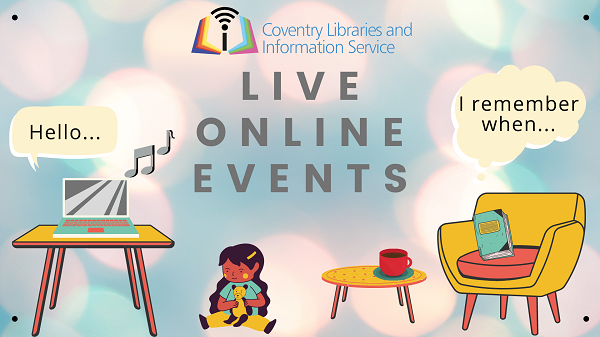 Live online library events