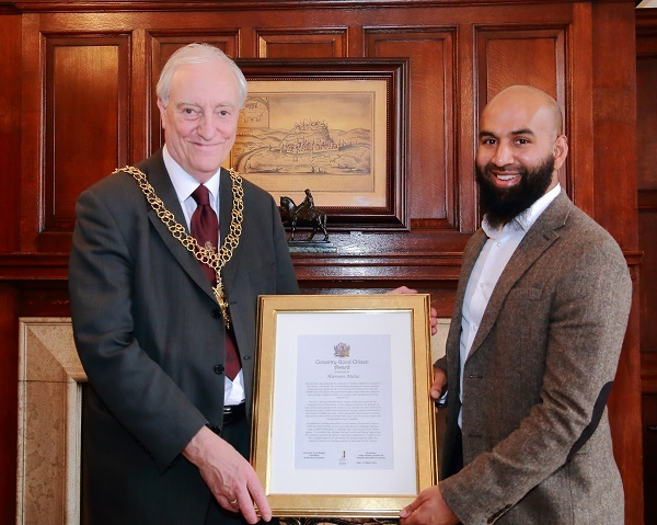 Lord Mayor and haroon