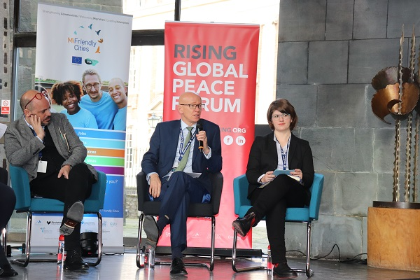 Martin Reeves at the Rising Global Peace Forum