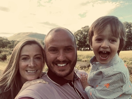 Steve and Rachael Bland with their son Freddie