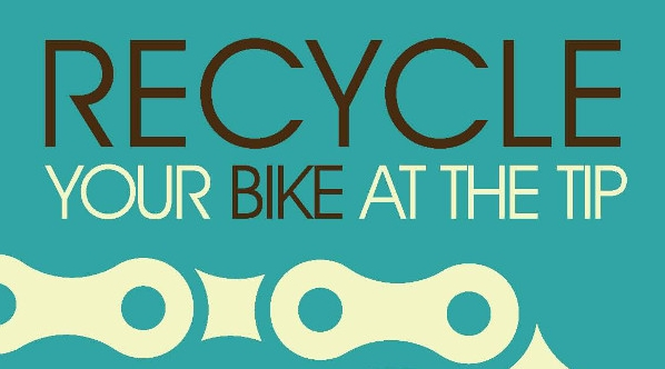 Recycle your bike at the tip