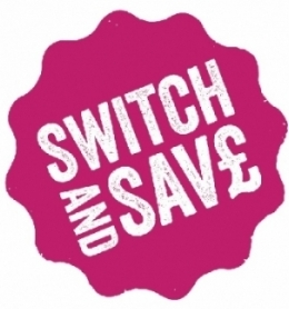 Switch and save logo