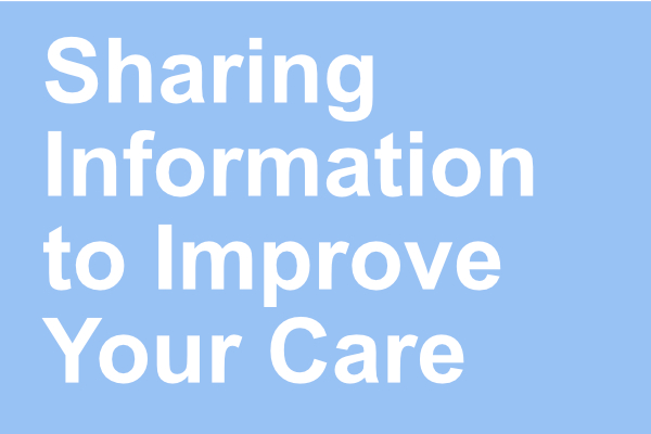 Sharing your information banner