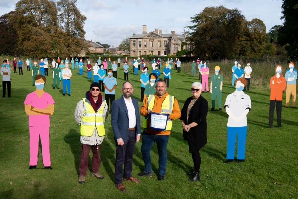 Standing with Giants launch at Coombe Abbey Park
