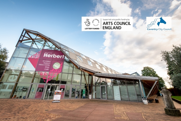 The Herbert supported using public funding by Arts Council England