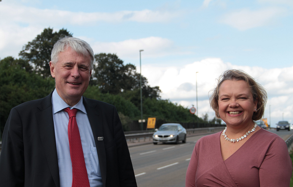 Cllr George Duggins and Cllr Jane Innes