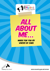 Voices of care all about me booklet