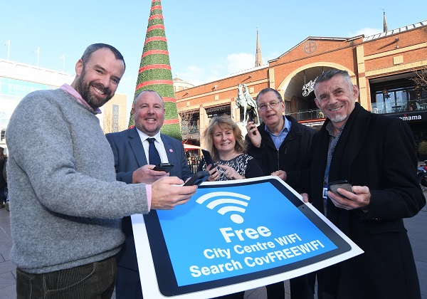 Wi-Fi in the city centre