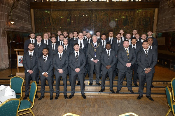 Wasps civic reception