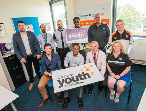 Members of the Coventry Youth Partnership