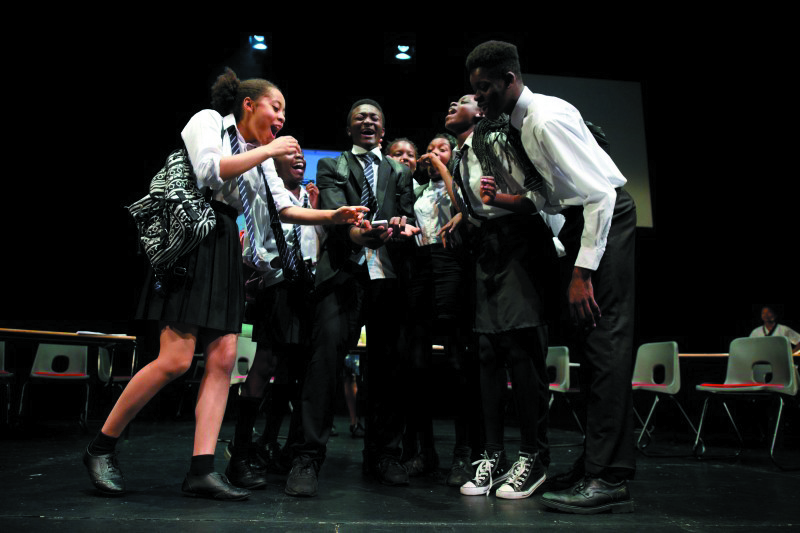 Black youth theatre arts funding