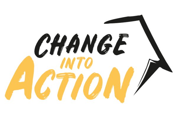Change into action logo