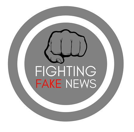 Fighting fake news logo