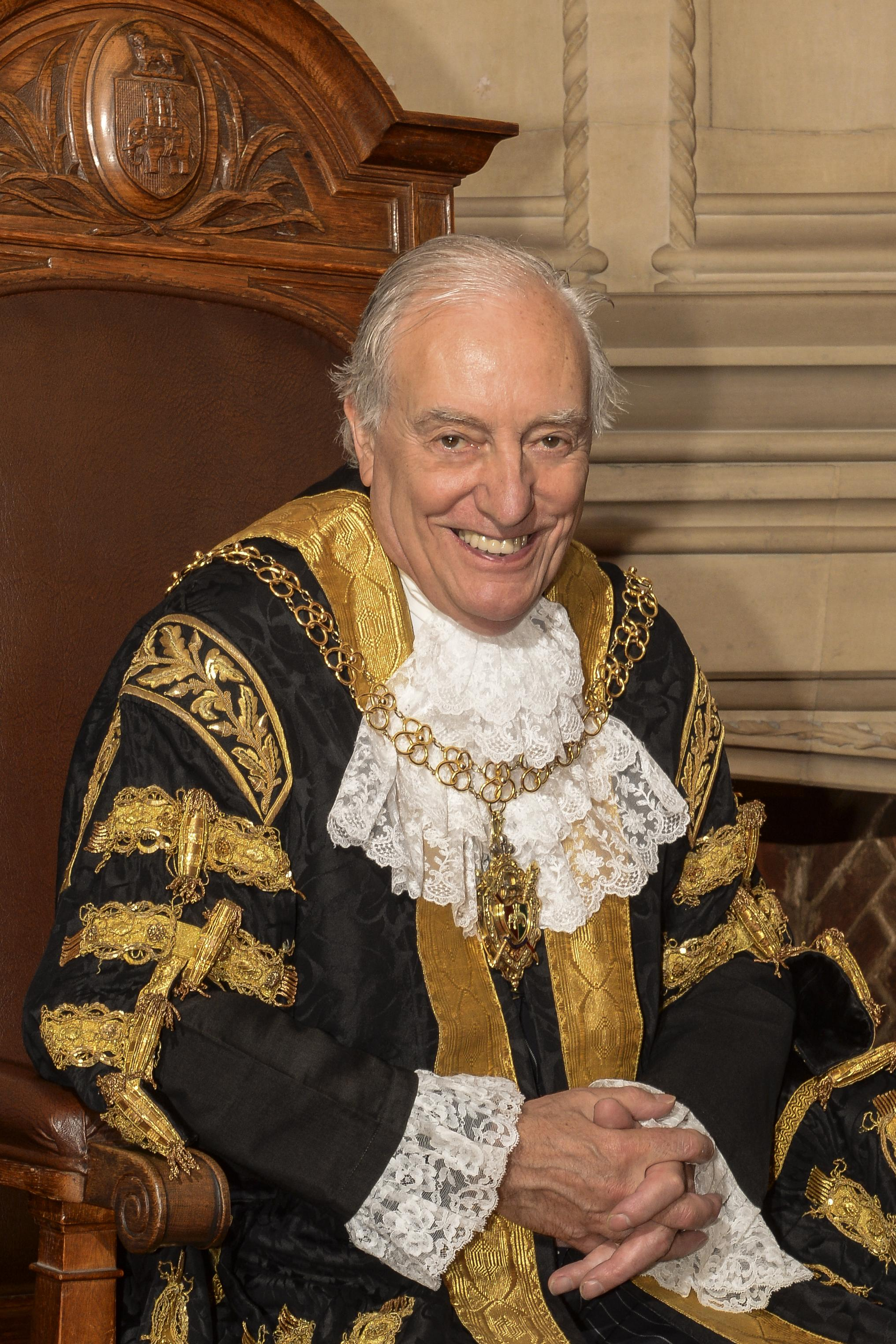 Lord Mayor Cllr Tony Skipper