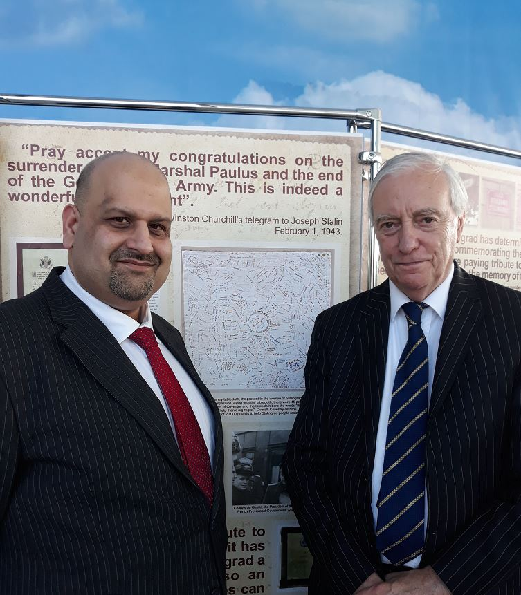 Lord Mayor and Cllr Khan in Volgograd